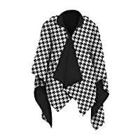 GALLERIA ENTERPRISES, INC. Houndstooth RainCape