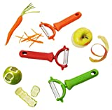 Messermeister 3-Piece Pro-Touch Y-Peeler Trio Set, Multicolor