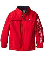 折后$16.49,诺蒂卡Nautica 男童夹克 两色 Little Boys' Anchor Jacket