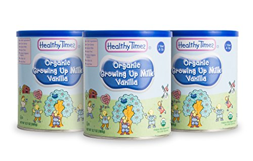 Healthy Times Organic Toddler Milk Formula  12 7 Ounce  3 Count