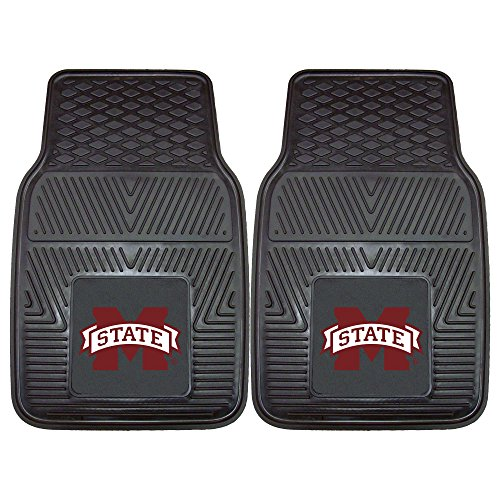 FANMATS NCAA Mississippi State University Bulldogs Vinyl Heavy Duty Car Mat