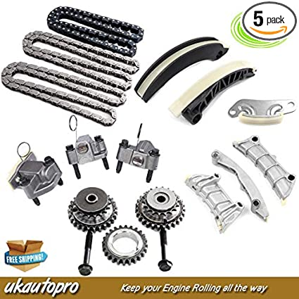 Amazon.com: TIMING CHAIN KIT Fits ALFA ROMEO 159 Spider Brera JTS 939A0 3.2L V6 w/Gears: Automotive