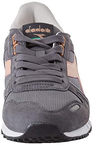 Diadora Titan Mehrfarbig Gray Steel Gymnastikschuhe Wi C7681 Creme Ii Cafe Erwachsene Unisex Rose EX0qrX