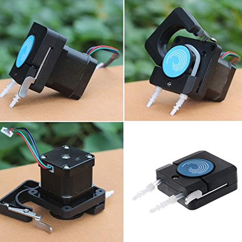 Mini Peristaltic Pump Head with Tube Small Flow Stepper Motor OEM Package AU22