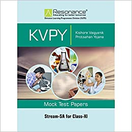 Buy KVPY SA Stream Mock Test Papers for Class 11th Book Online at
