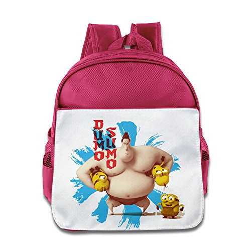[JXMD Custom Cute Dumo Sumo Mini Teenager School Bagpack For 1-6 Years Old Pink] (Alvin And The Chipmunks Costumes For Kids)