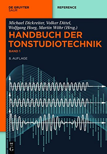 Handbuch der Tonstudiotechnik (set of 2)
