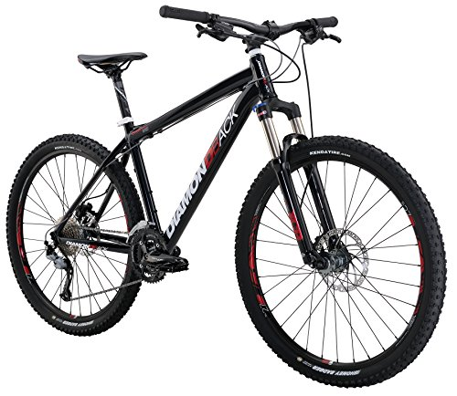 "Diamondback Bicycles Overdrive Sport Hard Tail Compete Mountain Bike with 27.5"" Wheels, 22""/X-Large, Dark Blue"
