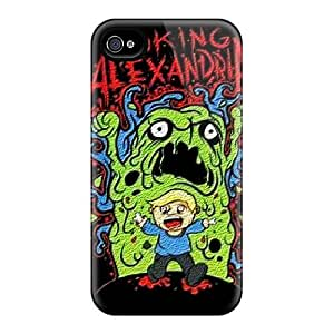 Protective Hard Cell-phone Cases For Iphone 4/4s (lqE11079SAhu) Provide Private Custom Beautiful Asking Alexandria Pattern