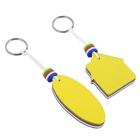 Amazon.com: VORCOOL EVA Floating Keychain Safety Key Holder ...