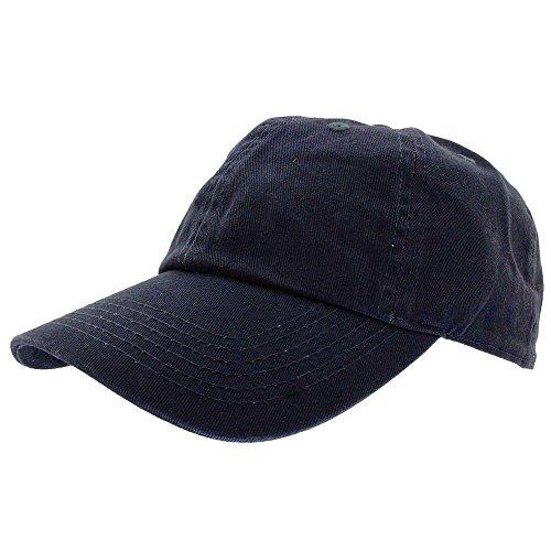 - Gelante Baseball Caps Dad Hats 100% Cotton Polo Style Plain Blank Adjustable Size. 1802-Navy