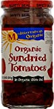 organic tomatoes jar - Mediterranean Organic Tomatoes, Sun-Dried in Olive Oil, Organic, 8.5-Ounce Jars (Pack of 6)