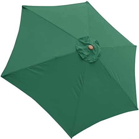 8/'//9/'//10/'//13/' Umbrella Replacement Canopy 8 Rib Outdoor Patio Top Cover Only Opt