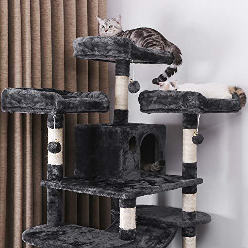 BEWISHOME Large Cat Tree Condo