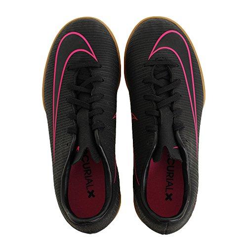 Nike Jr Mercurialx Vapor Xi Ic, Botas de Fútbol para Niños Negro (Black / Black)