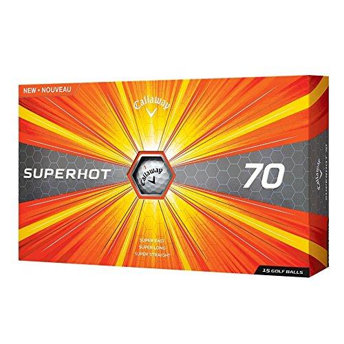 Callaway 2017 Superhot 70 Golf Balls (Pack of 15) White