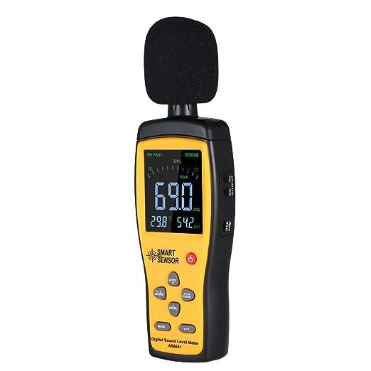 JINSE Decibel Meter Mini Digital Sound Level Meter Noise Measuring ...