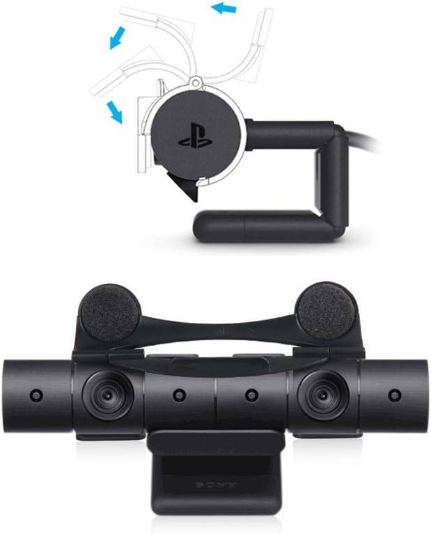 Tapa de objetivo, Lens Cap para PlayStation VR Cámara - ElecGear Cubierta Webcam, Prueba de polvo Protector Cover, intimidad Protective Snap-on Clip para PS Camera