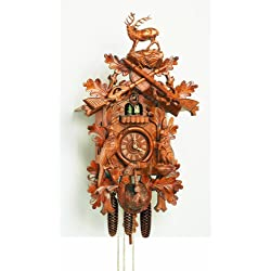 Cuckoo Clock 8 Day Musical Hunter Style Buying Local Means You Get it Fast and With NO Customs Fees!