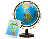 Best Illuminated Globes - SJ Smart Globe with Illuminated Constellations View at Review