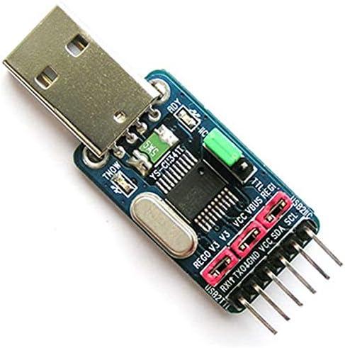 Beispielcode 2IN1 CH341T Modul USB zu I2C IIC UART TTL Master Adapter Konverter STC ISP Download