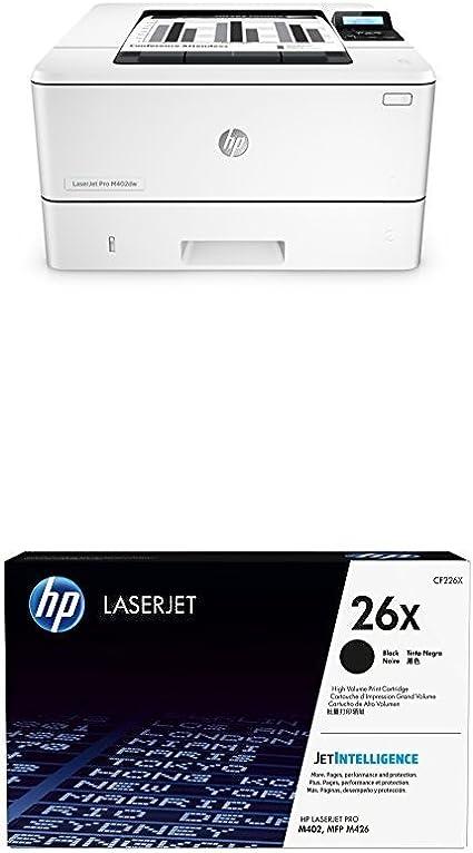 HP LaserJet M402dw - Impresora láser + Cartucho de tóner original ...
