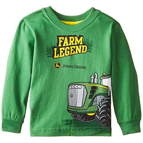 John Deere Baby Toddler Long Sleeve Tee (12 Months, Green Farm Legend)