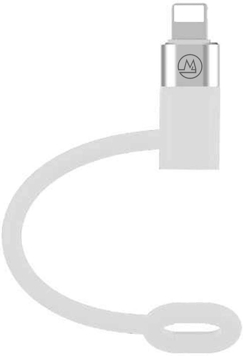 Maogoam USB C to Lightning Adapter, [ Type C Female to Lightning Male][Supports PD 20W][Compatible with iPhone 12, iPad, AirPods & New AirPods Max][Fits for Original MacBook USB C Charger Adaptor]