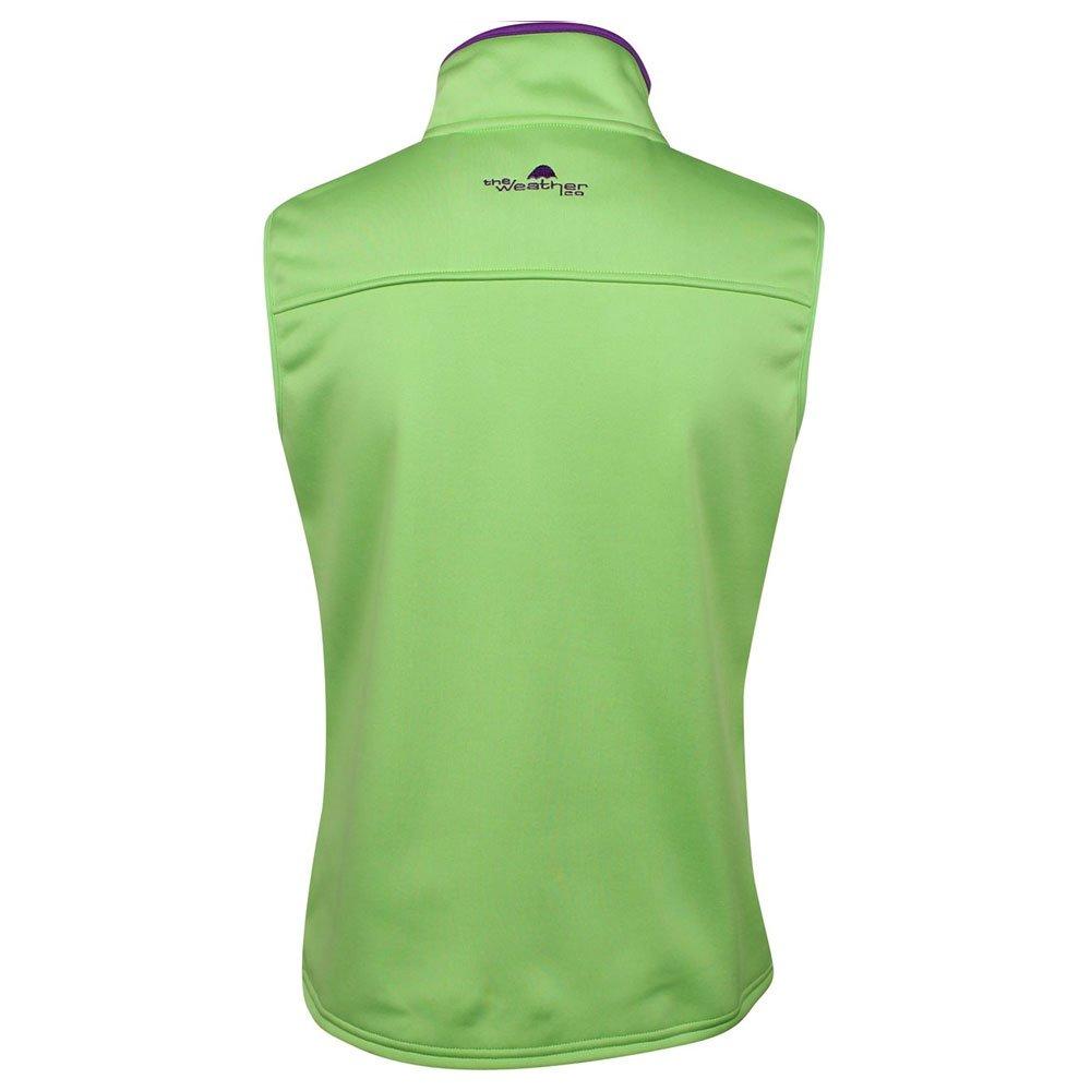 The Weather Apparel Co Poly Flex Golf Vest 2017 Women Lime/Purple Medium by The Weather Apparel Co (Image #2)