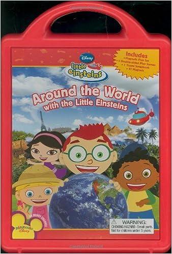 Around The World With The Little Einsteins Disney Book Group Marcy