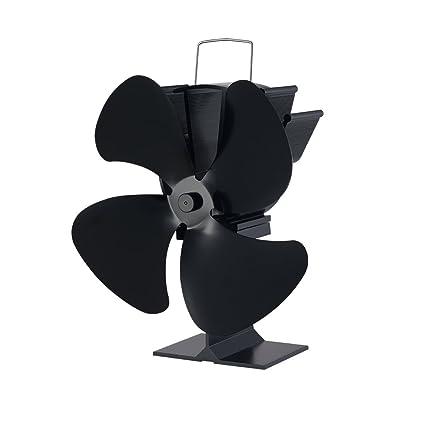 Generic ventilador de estufa Ecofan Classic cuatro hojas diseño