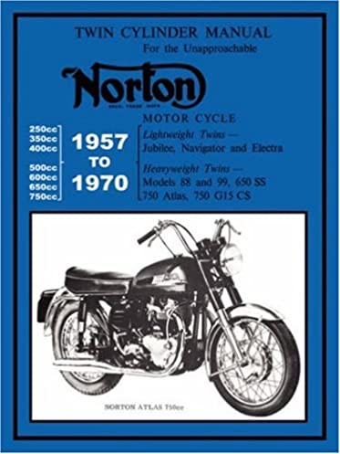 norton motorcycles factory workshop manual 1957 1970 norton rh amazon com norton dominator service manual norton dominator 99 workshop manual