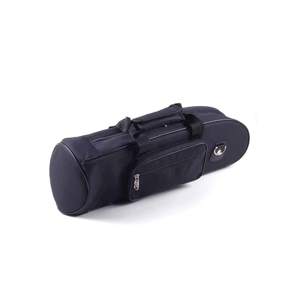 PAMPET Lightweight Trumpet Case Soft Trumpet Bag Compatible All Trumpet