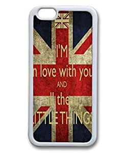 I'm In Love With You And All Your Little Things - cross vintage Amercian Flag Phone Case Back Cover (iPhone 6 5.5 inches) by runtopwell