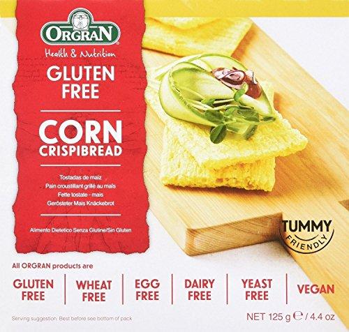 Orgran - Gluten Free Toasted Corn Crispbread 125g (Pack of ()