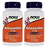 Now Foods Astaxanthin 4 mg - 90 Sgels 2 Pack