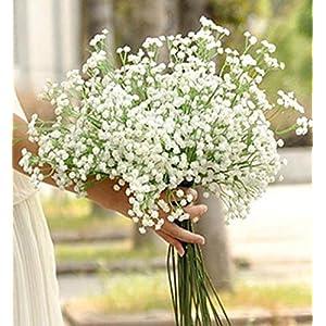 DEESEE(TM) NewArtificial Gypsophila Flower Fake Silk Wedding Party Bouquet Home Decor 99