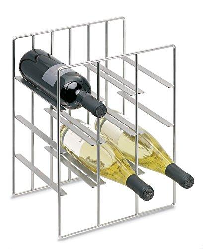 blomus 68487 Blomus Wine Bottle Storage/Holds 9 Bottles, Square