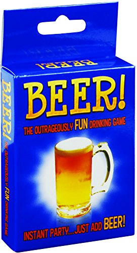 Loftus Kheper Beer! Adult Party Outrageously Fun Drinking Card Game, Standard Deck (Beer Games Kheper)