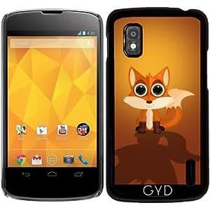 Funda para Google Nexus 4 - Zorro by Adamzworld