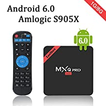 2017 Leelbox MXQ Pro MINI Android TV Box Amlogic S905x android 6.0 Quad-Core CPU 1GB RAM/8GB ROM/WIFI