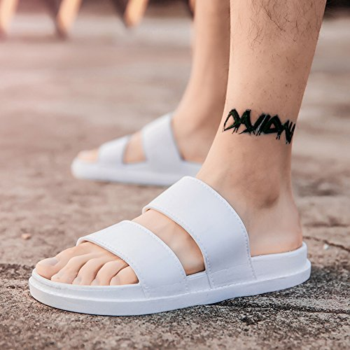 e donne pantofole fankou 42 di boys gli moda dehor uomini uomini pantofole le pantofole coppie Estate marea bianco di estivo wOfqwTP