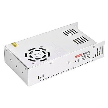 Lecxin Fuente de alimentación del Interruptor, 24V 15A 360W ...