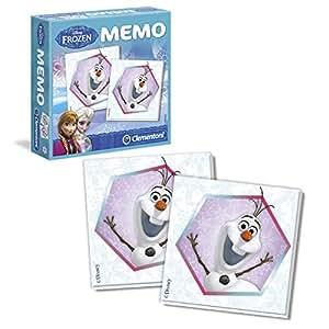 Disney Frozen - Memo, Juego Educativo (Clementoni 134977)