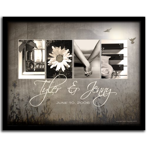 Love Letters - Personalized Wedding Gift Romantic Art Perfect
