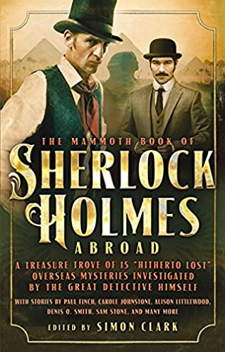 book cover of Mammoth Book Of Sherlock Holmes Abroad