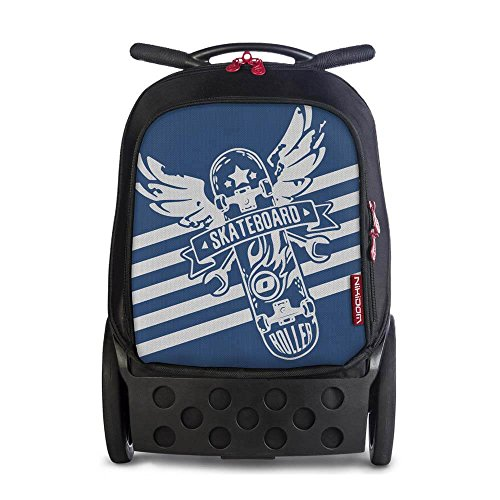 Nikidom XL Skate Troller, Azul, Talla Única