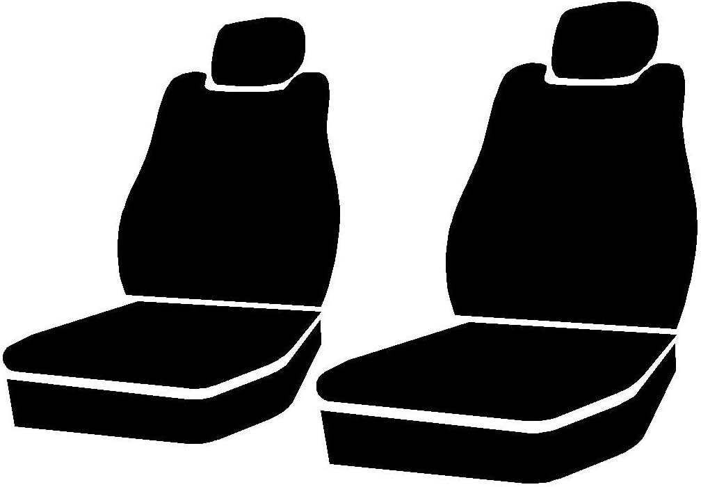 FIA SP89-44 Gray Custom Fit Seat Cover Gray Front Bucket Seats Polyester, 1 Pack