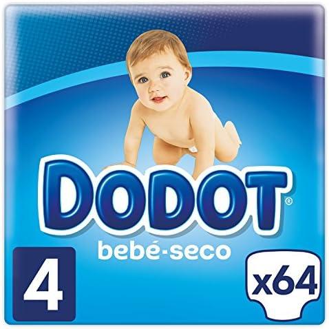 Dodot Bebé-Seco Pañales Talla 4, 64 Pañales, el unico Pañal con canales de Aire, 9 a 14 kg: Amazon.es: Salud y cuidado personal