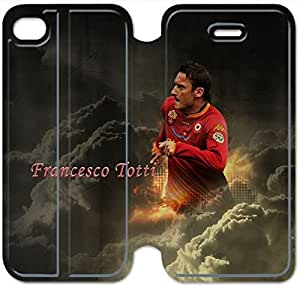 Leather Smart Cover With Flip Stand Phone Case iphone 6 6S 4.7 inch-francesco totti-2